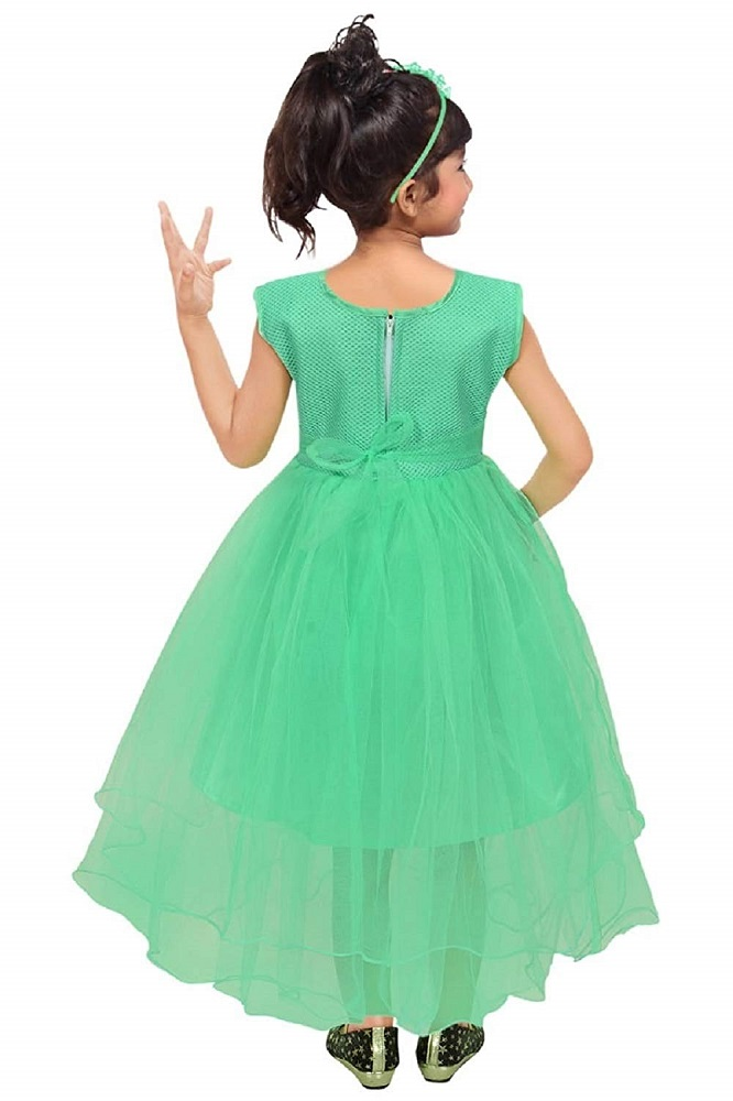 db0e3a9215 Buy Girl s Maxi Full Length Bright Party Casual Wear Frock Gown ...