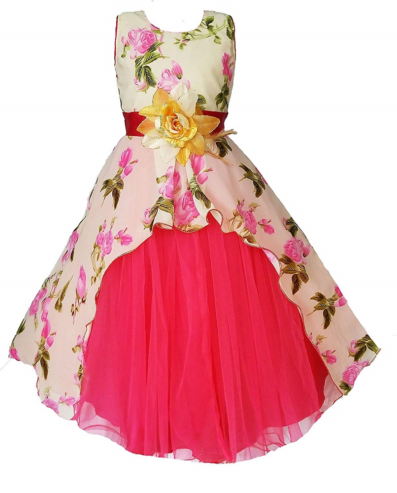 Party Wear Frocks For Baby Girl: Buy Birthday Party Wear Baby Girls Frock Dress_Cute Pastel