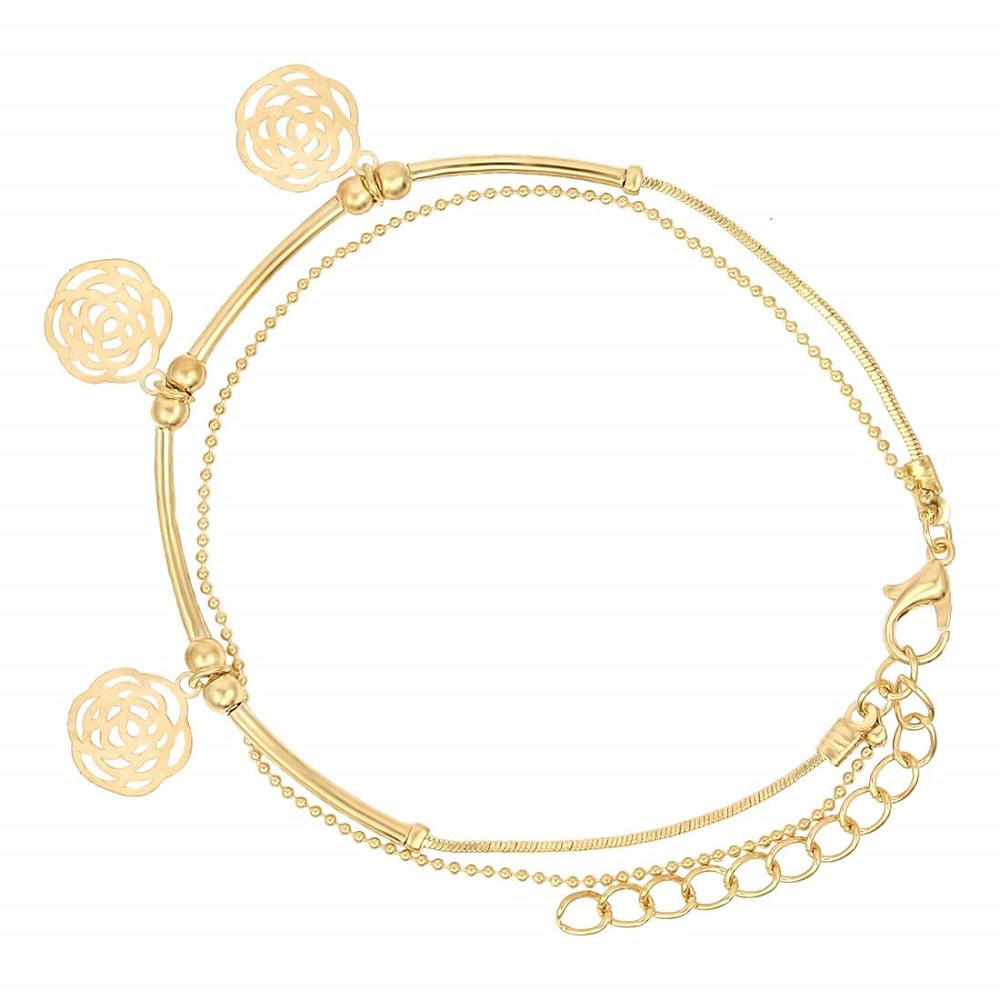 bfb98ab6f6f Buy Indo Western Single Leg Anklet For Girls   Women - Nakabh ...