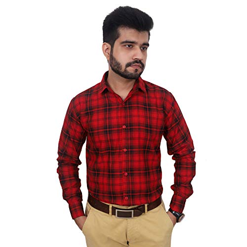 Stylish Red Casual Shirt