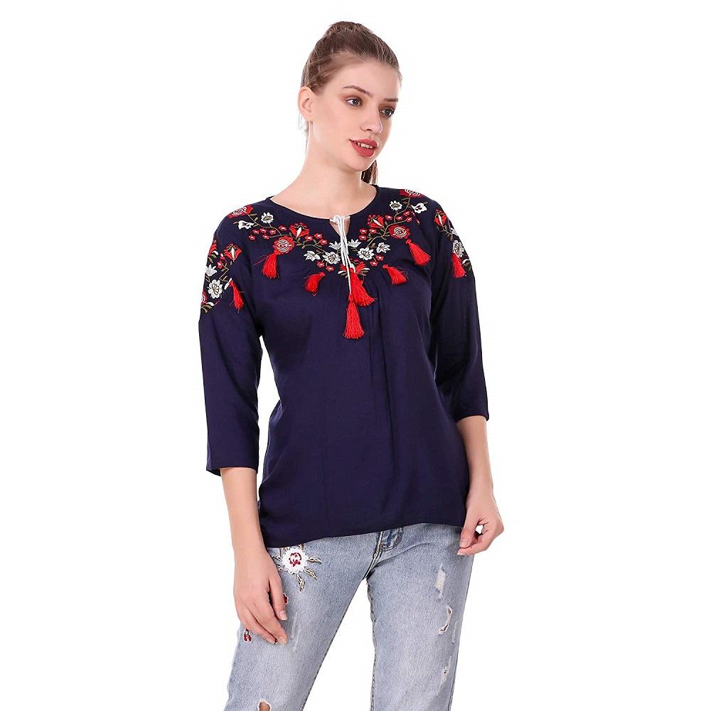 dd899d82d0d Cotton Western Dresses Online India