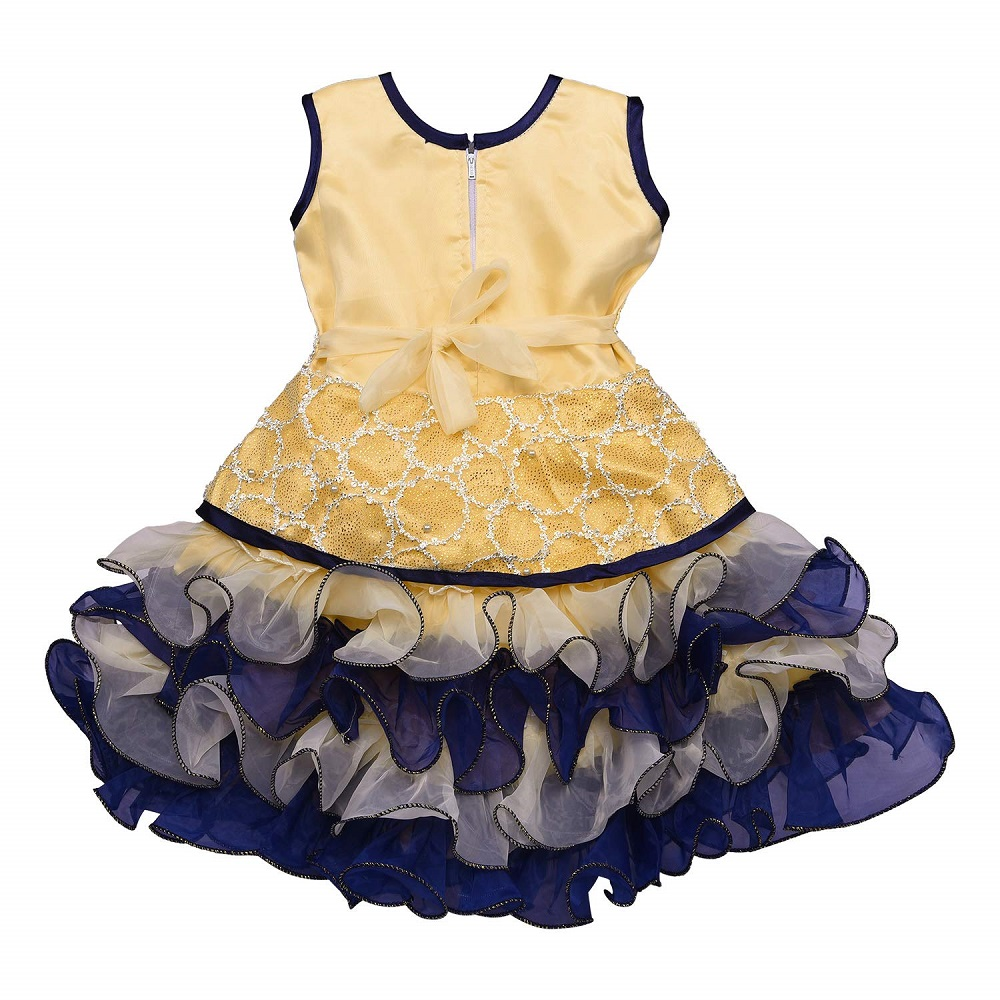 31d990f6b Buy Baby Girls Party Wear Frock Dress DN (fe2621) - Wish Karo Online ...