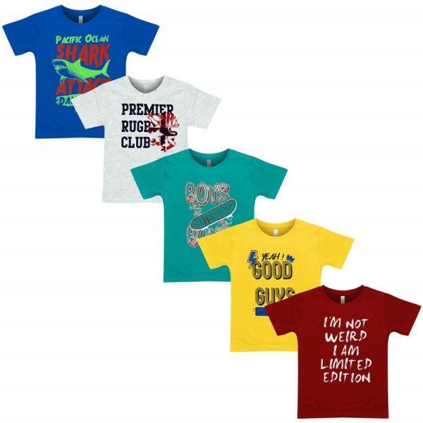 Boys Half Sleeve Cotton T-Shirt