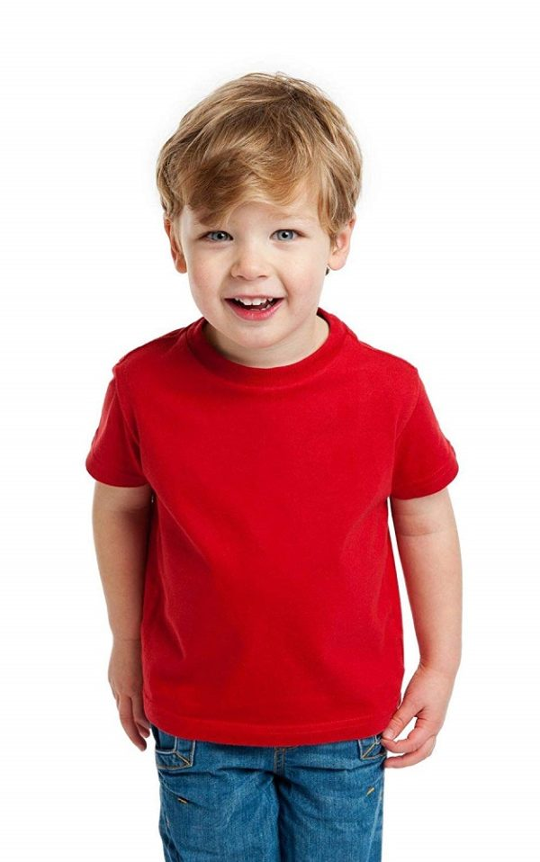 Half Sleeve Round Neck Solid T-Shirt