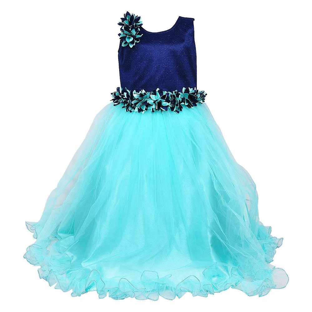 b17ef4cef Buy Party Wear Long Frock Dress For Baby Girls DN (LFg1006sg) - Wish ...