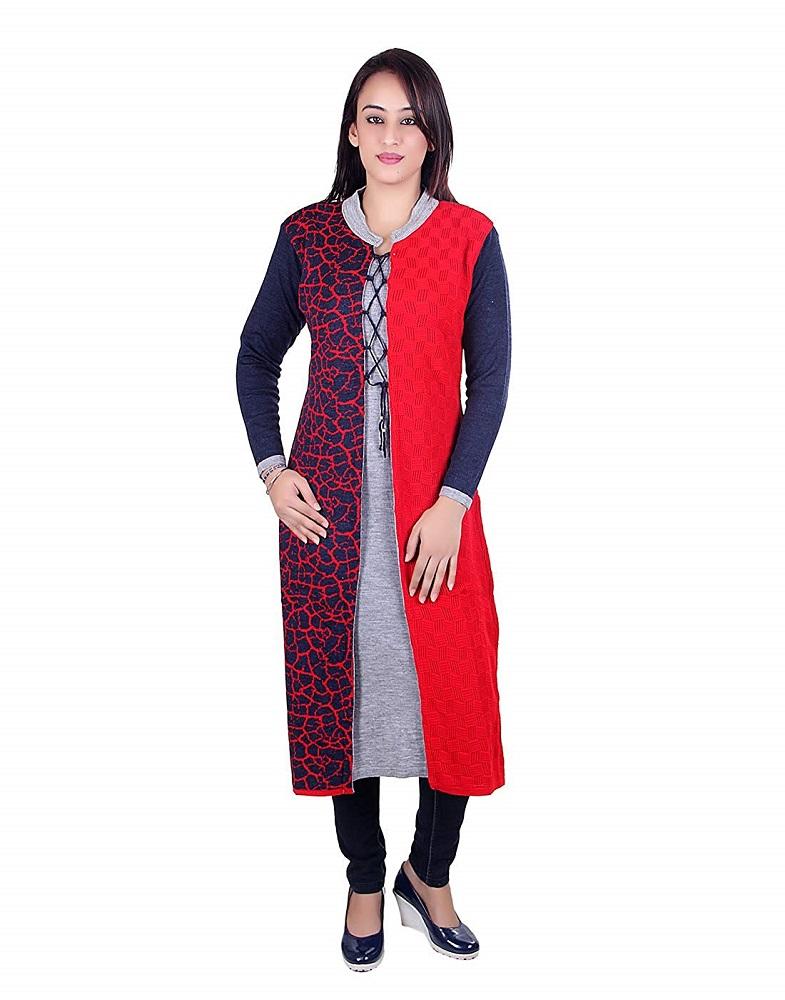 a1ead127fb Buy Woolen Kurti For Women - Ogarti Online at Best Price in India