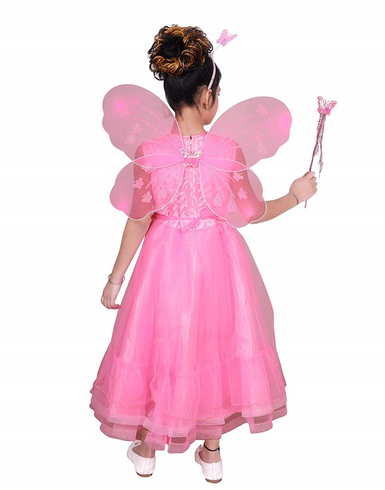 1fa7894bcb59e Blended Baby Girls Angel Pari Dress Christmas Gown – Ahhaaaa. Roll over  image to zoom in. Click to open expanded view