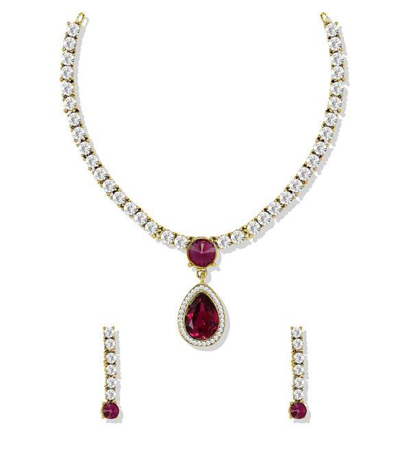 Dark Pink Jewellery