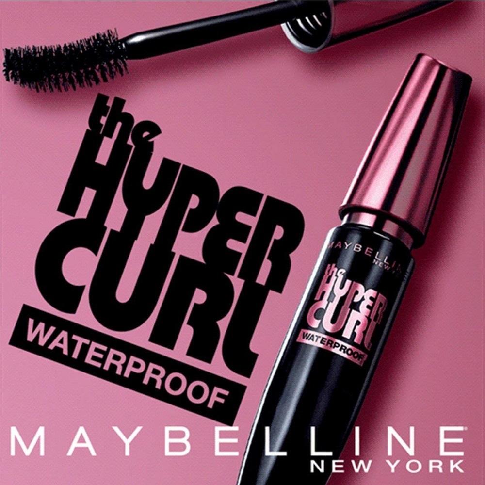 5e146811773 Buy Black Hypercurl Waterproof Mascara, 9.2ml - Maybelline New York ...