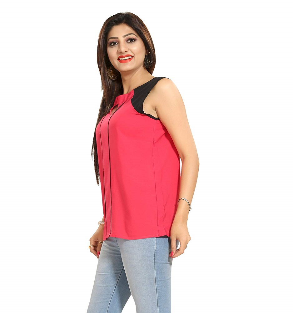 e6ca21724c8d6f Buy Women s Faux Crepe Top - ALC Creations Online at Best Price in India