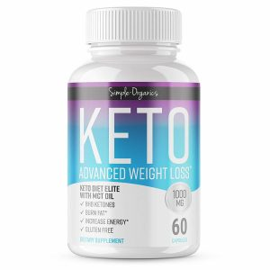 Buy Vokin Biotech Keto (Advanced Weight Loss Formula, 60 Capsules