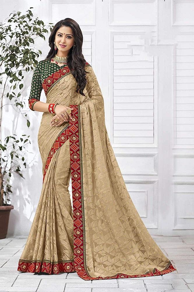 03160c2fea Buy Multicolor Manoneeta Printed Chiffon Saree - Laxmipati Online at ...