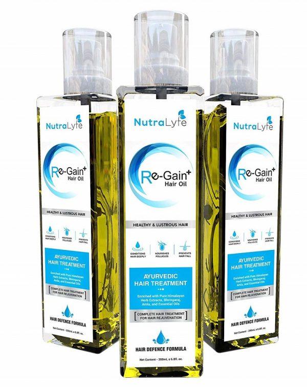 Nutralyfe Re-Gain + Hair Oil