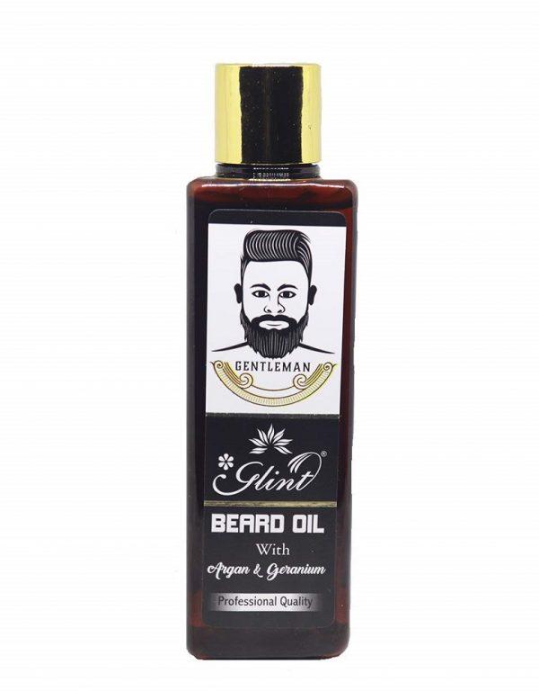 Glint Beard Oil With Argan & Geranium