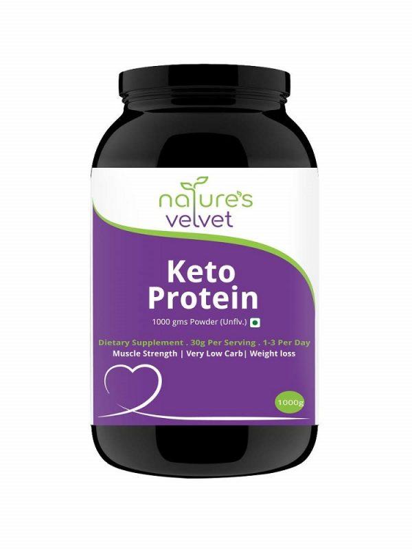 Nature's Velvet Keto Protein Powder